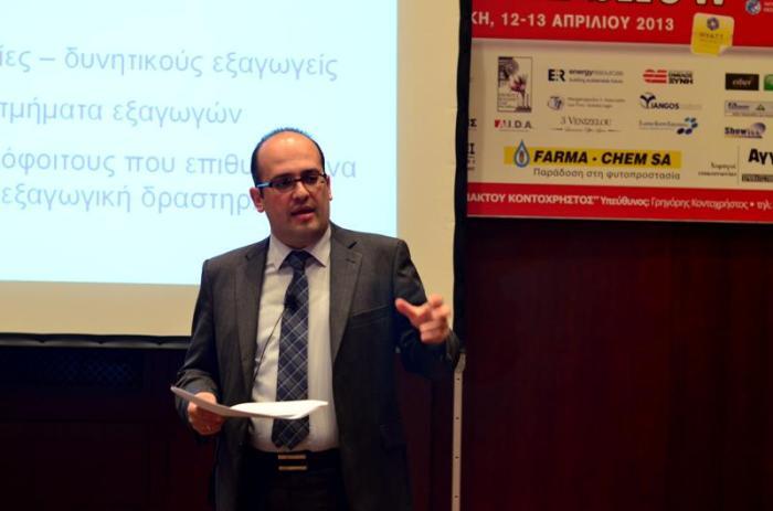 Ο Εντεταλμένος Σύμβουλος του ΣΕΒΕ και Συντονιστής της Ομάδας Εργασίας SEVE next generation, κ. Χρήστος Παπανικολάου.